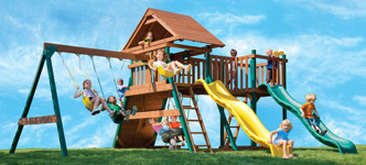 Yardline Playsets Systems Ultra Fortress II Playset