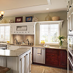 Custom All American Wood Kitchen and Bath Cabinets by Tuscan Hills Cabinetry