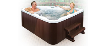 Aquaterra Spas Toscano 17-Jet, 3-Person Spa