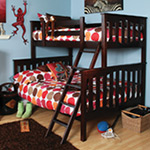 Seneca Twin Over Full Bunkbed 2-Piece Set