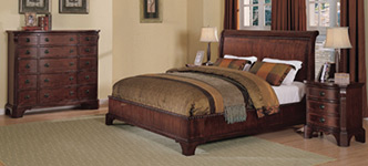 Wilshire 4-Piece Queen Bedroom Set