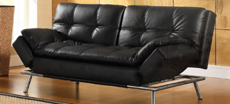 Belize Bonded Leather Euro Lounger