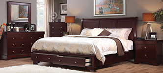 Avalon 6-Piece Queen Storage Bedroom Set