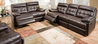 Landon 3-Piece Reclining Top Grain Leather Set