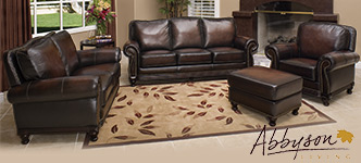 Venezia 4-Piece Top Grain Leather Set