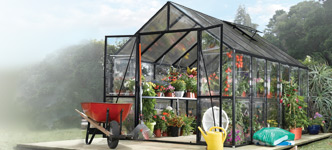 Kensington 8' x 12' Greenhouse