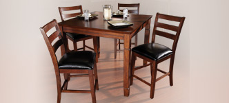 American Heritage 5-Piece Caesar 2-in-1 Game Table