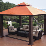 Seville 12' x 12' Soft-Top Gazebo