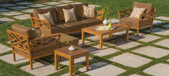 Bel-Aire 6-Piece Deep Seating Set