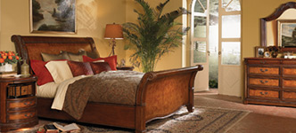 Vineyard 5-Piece King Sleigh Bedroom Set