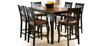 Roslyn 7-Piece Rectangle Dining Set