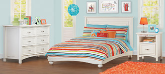 Cafekid London 3-Piece Full Bedroom Set