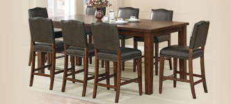 Rochester 9-Piece Counter-Height Dining Set
