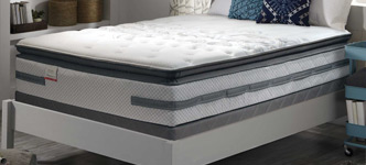 Sealy Posturepedic Prichard Plush Euro Pillowtop Queen Mattress Set