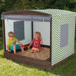 KidKraft Fun-in-the-Sun Cabana Sandbox