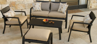 Portofino Bungalow 5-Piece Deep Seating Set