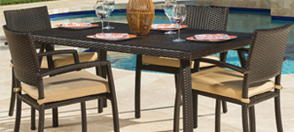 Portofino Bungalow 5-Piece Café Dining Set