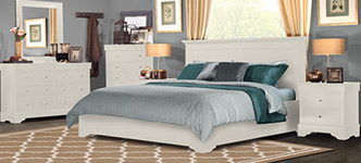 Shelby White 6-Piece Queen Bedroom Set