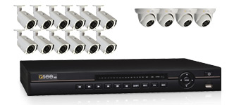 Q-See 16-Channel 720p HD Security Camera System