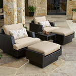 Portofino Comfort 5-Piece Club Chair Set