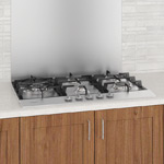 Ancona 5-Burner Stainless Steel Gas Cooktop