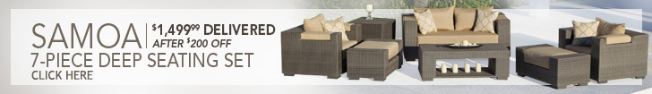 Samoa 7-Piece Deep Seating Set