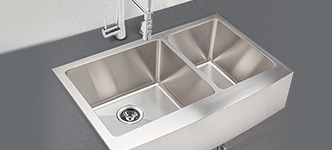 Stainless Steel Kitchen Sinks by Hahn and Clark