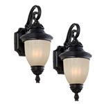 laurel designs outdoor wall light fixture dark bronze coach lamp 2