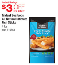 Food service warehouse coupon code 2017 2018 best cars for Trident fish sticks