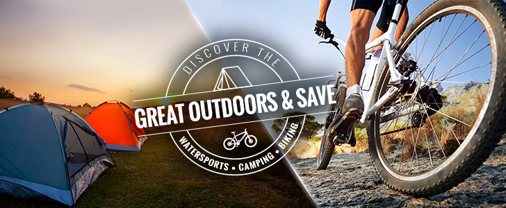 Discover The Great Outdoors And Save