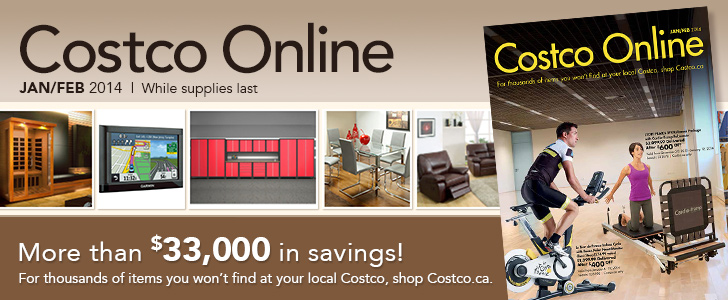 Costco Online Jan Feb 2014 While Supplies Last More