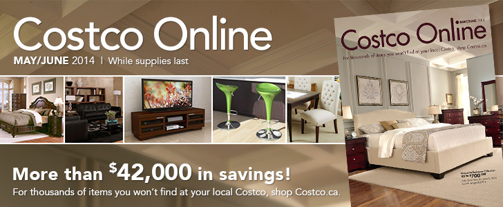 Costco Online May June 2014 While Supplies Last More Than 42 000 In Savings For Thousands