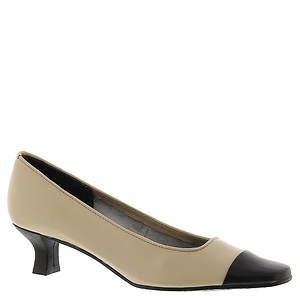 Cap Toe Pumps by Mezzo By Van Eli, in 15 Colors
