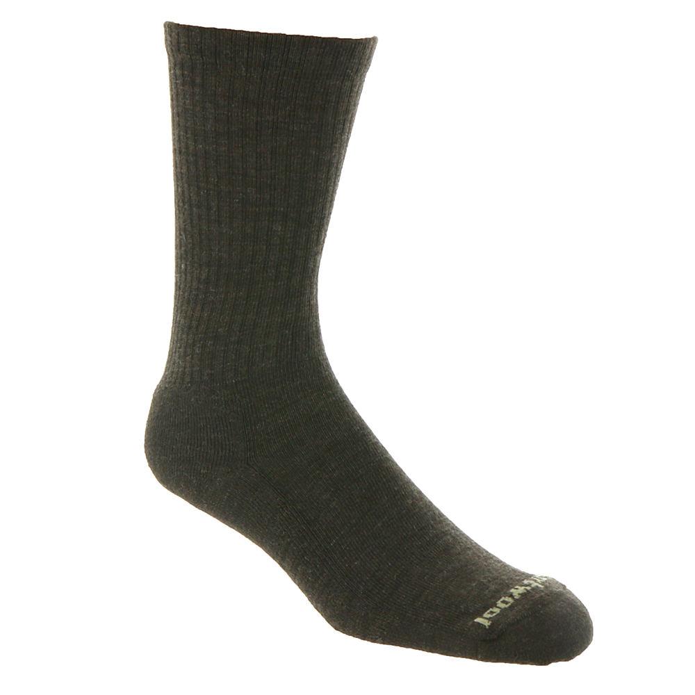 SmartWool Men's Heathered Rib Socks Brown Socks XL 615201CHS1XL