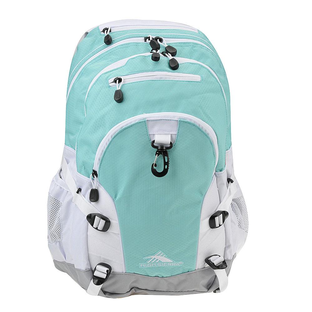 Loop Backpack Aquamarine/White/Ash - High Sierra Everyday Backpacks