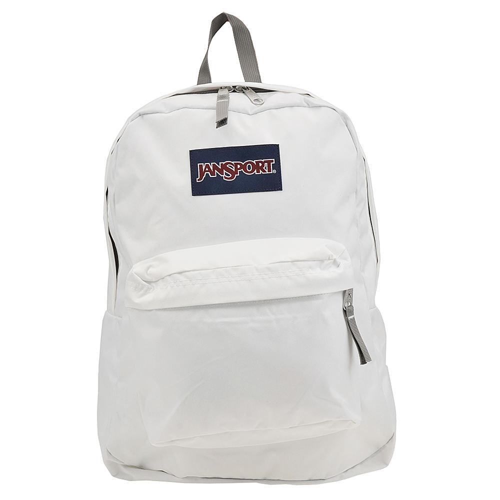 JANSPORT Superbreak Backpack White Bags No Size