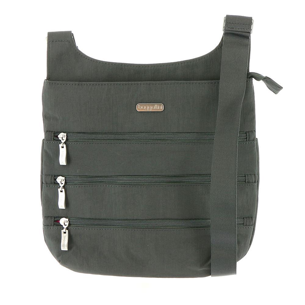Baggallini Big Zipper Bagg Grey Bags No Size