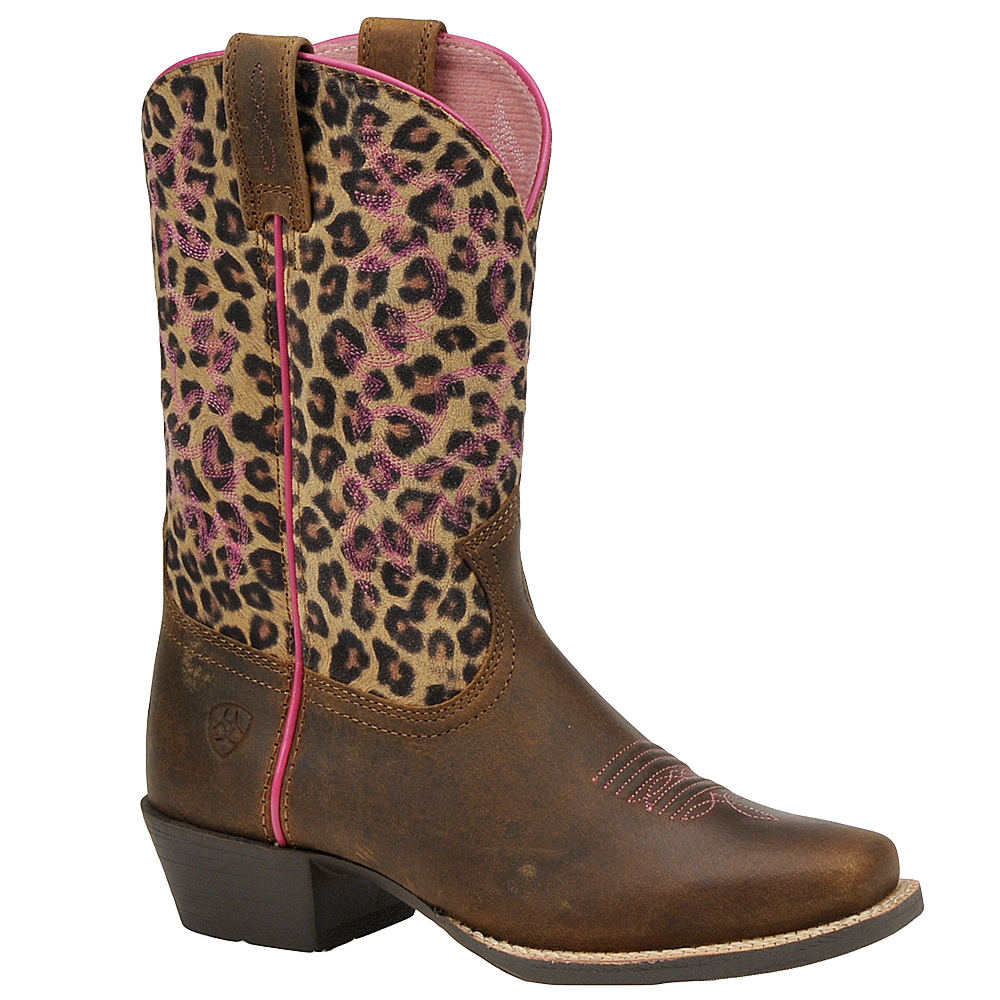 Ariat Legend Girls' Toddler-Youth Brown,Multi Boot 10 Tod...