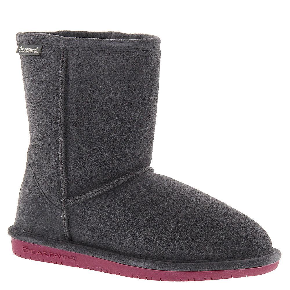 Bearpaw Emma Girls' Toddler-Youth Grey Boot 4 Youth M
