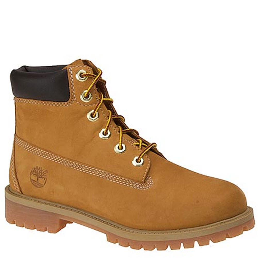 "Timberland 6"" PREMIUM  Kids Toddler-Youth Tan Boot 7 Youth M"