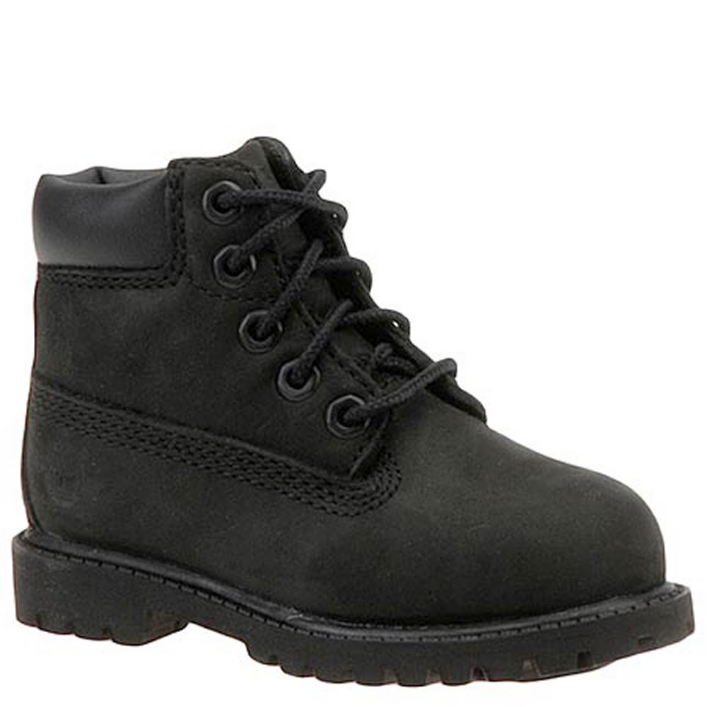 Timberland Kids' 6 Inch Premium  Infant-Toddler Black Boo...