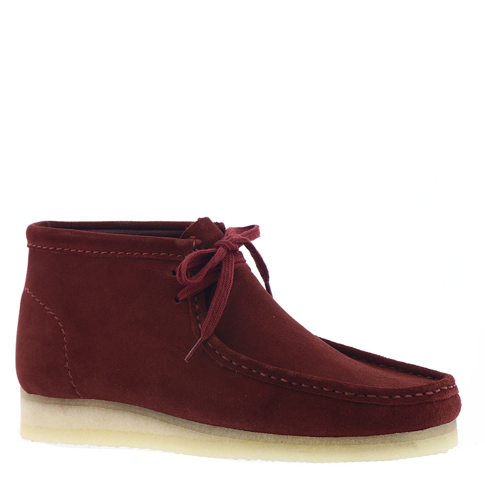 Clarks Wallabee  Men's Burgundy Boot 13 M