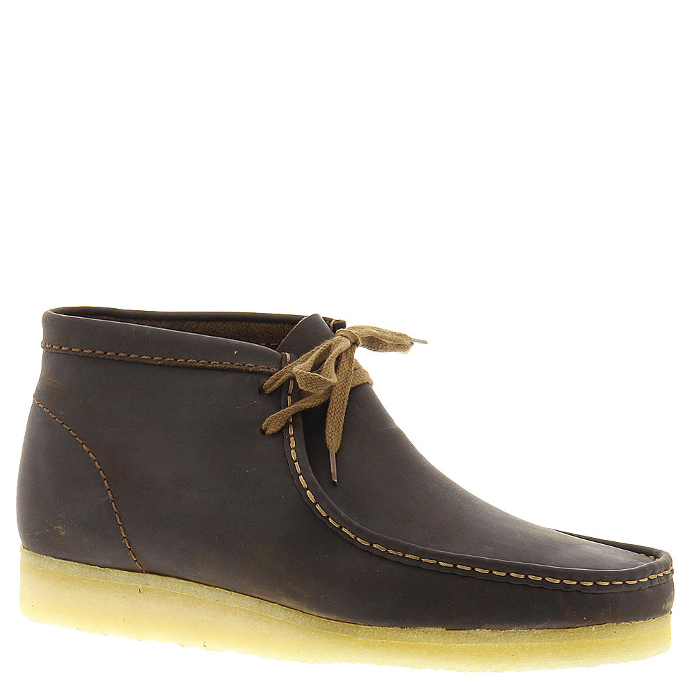 Clarks Wallabee Boot - Beeswax Leather 10.5
