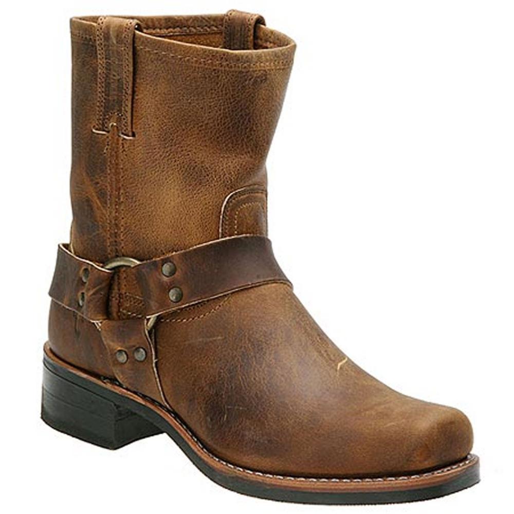 Frye Men's Harness 8R Brown Boot 8 M