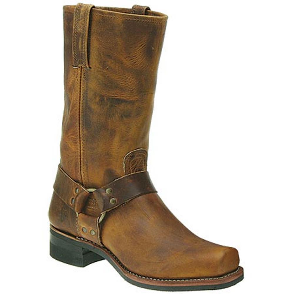 "Frye Men's Harness 12"" Brown Boot 11 M"