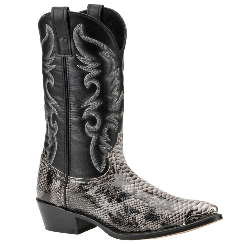 Laredo Men's Monty Western Black Boot 9.5 E2
