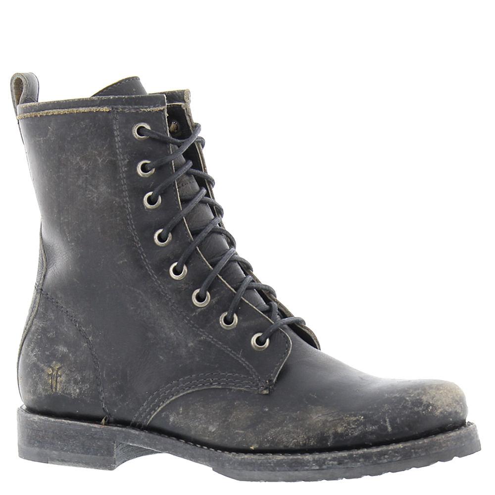 Frye Company VERONICA COMBAT Women's Black Boot 6.5 M