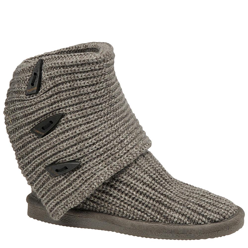 Bearpaw Knit Tall Women's Grey Boot 7 M