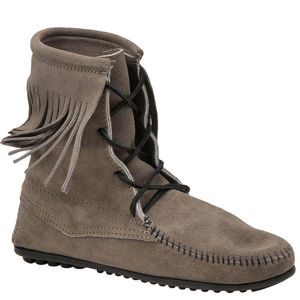 Minnetonka Women's Tramper Ankle Grey Boot 9 M