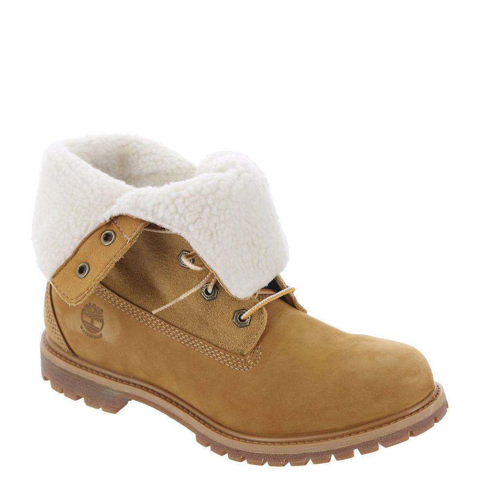 Timberland Teddy Fleece Women's Tan Boot 7.5 M